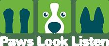 Paws Look Listen Logo